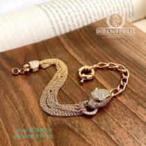 دستبند جگوار مشابه طلا
