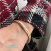 دستبند ژوپینگ طرح طلا پوست ماری